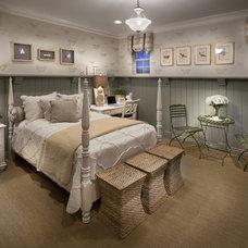 Mediterranean Bedroom by Celebrity Communities