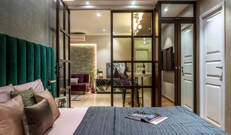 Houzz TV: A Bare Shell is Transformed into a Warm, Glamorous Home