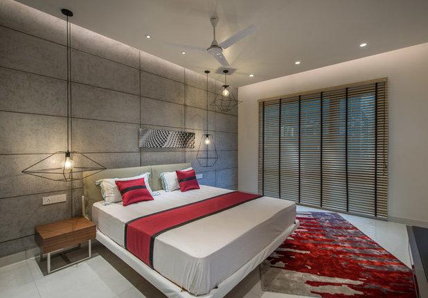 Contemporary Bedroom by Ricken Desai Photography