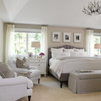 A Luxurious Master Bedroom Retreat Traditional Bedroom