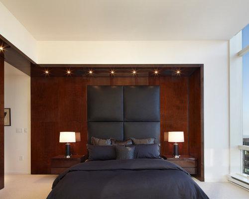 neutral bedroom design scheme presenting large   Neutral Color Schemes   Houzz