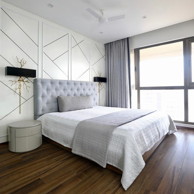 Contemporary Bedroom by Studio Flamingo