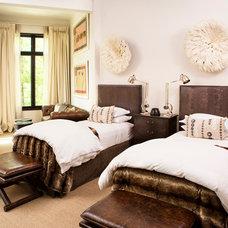 Contemporary Bedroom by Resort Custom Homes