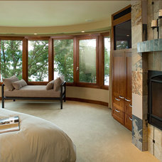 Craftsman Bedroom by Bruce Lenzen Design Build LLC