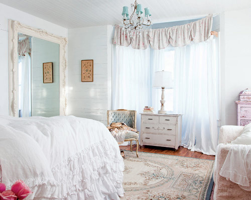 Houzz Shabby Chic Bedroom Makeover Design Ideas Remodel Pictures