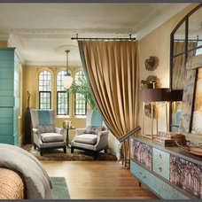 Eclectic Bedroom by Gacek Design Group, Inc.