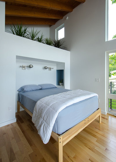 Contemporary Bedroom by Cultivation Design Build