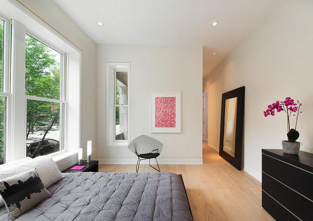 Scandinavian Bedroom by Kamm Architecture