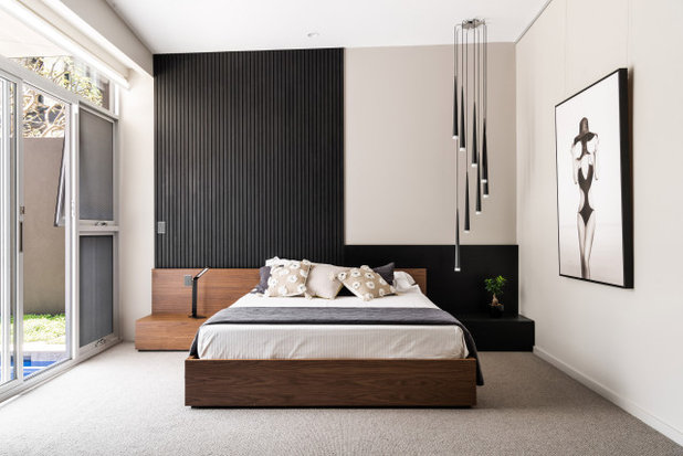 Contemporary Bedroom by Yael K & Associates