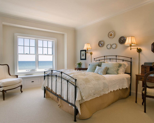 Double Wrought Iron Bed Frame Houzz
