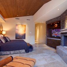 Contemporary Bedroom by Angela Wells Interior Design