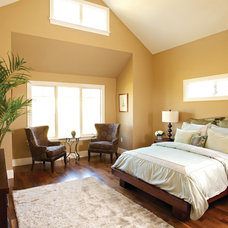 Transitional Bedroom by Northland Residential Corporation