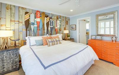 Houzz Tour: Bright Beach House Goes for Fun Coastal Style