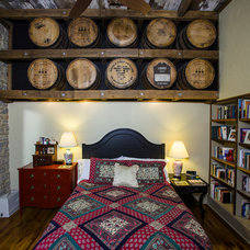 Rustic Bedroom by Wilmes & Associates Architects