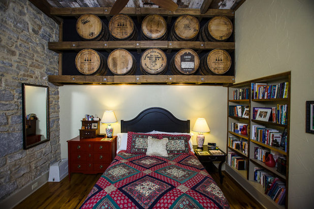 Fabulous Rustic Bedroom by Wilmes u Associates Architects