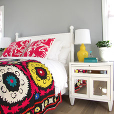 Beach Style Bedroom by Tara Bussema - Neat Organization and Design