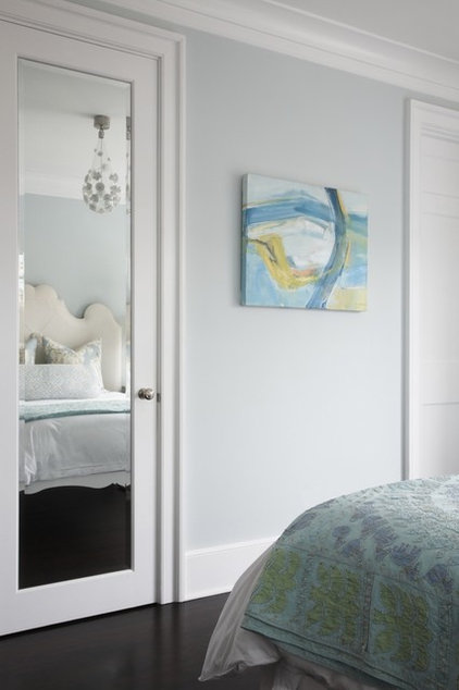 Transitional Bedroom by Blue Tangerine Art