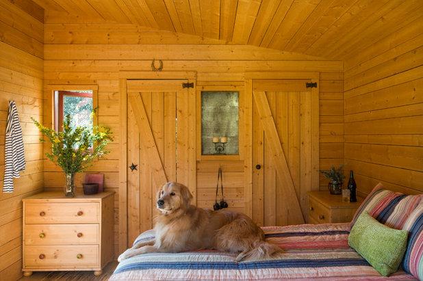 Rustico Camera da Letto by Keith Anding Architect