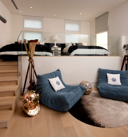 Contemporary Bedroom by Michael G Imber, Architects
