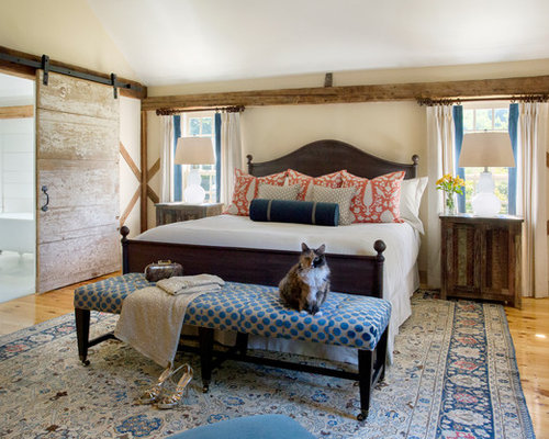New england bedroom design ideas remodel pictures houzz for New england style bedroom