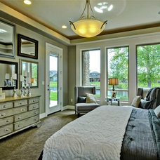 Traditional Bedroom by Boise Hunter Homes