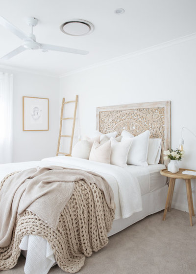Beach Style Bedroom by The Styling Edge