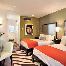 Modern Bedroom by BURLEYATESDESIGN