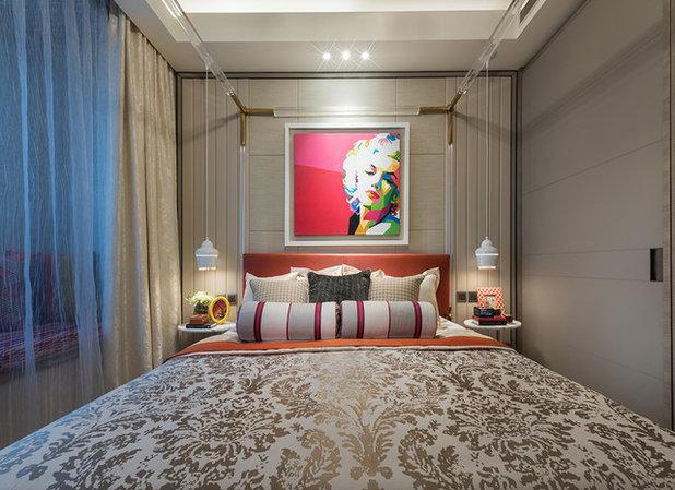 Retro Bedroom by A.RK Interior Design Pte Ltd