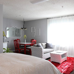 eclectic bedroom The Upward Bound House by Kelly LaPlante