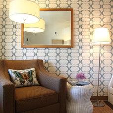 Contemporary Bedroom The Upward Bound House by Rachel Winokur, photo by Laure Joliet