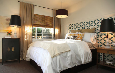 Give Your Bed a Dramatic Backdrop