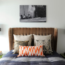 Eclectic Bedroom by A Good Chick To Know