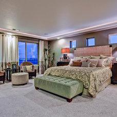 Eclectic Bedroom by Oakwood Homes