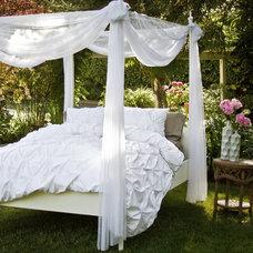 Contemporary Bedroom by Crane & Canopy