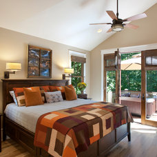Craftsman Bedroom by Brookstone Builders