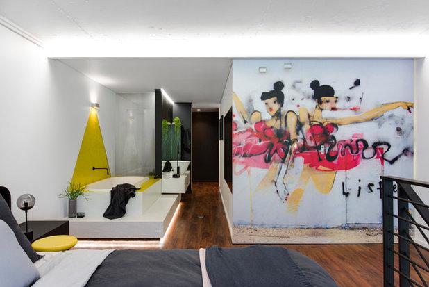 Contemporary Bedroom by Minosa | Design Life Better