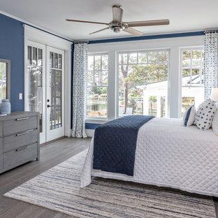 Foto di una camera da letto american style