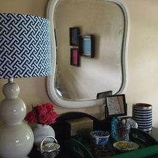 Eclectic Bedroom by Little Black Door