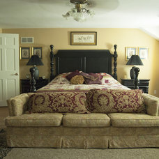 Traditional Bedroom by Adrienne DeRosa
