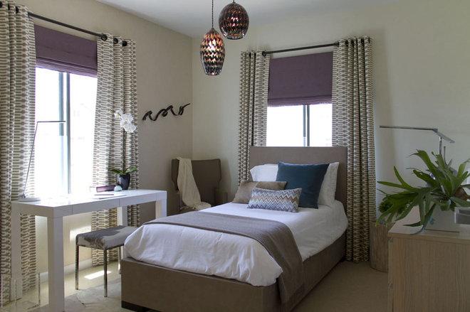 Contemporary Bedroom by Erika Bierman Photography