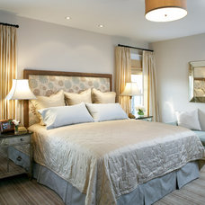 Transitional Bedroom by AbbeyK, Inc.
