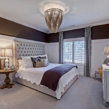 Three in a row guest bedrooms