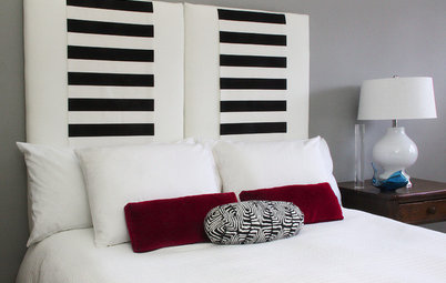 Make an Upholstered Headboard You Can Change on a Whim