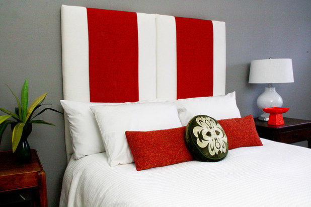 Eclectic Bedroom by Upholstery Club's Shelly Leer