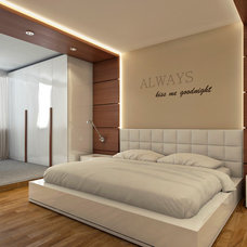 modern bedroom by Makani - architectural design
