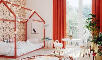 Thumbellina's bedroom