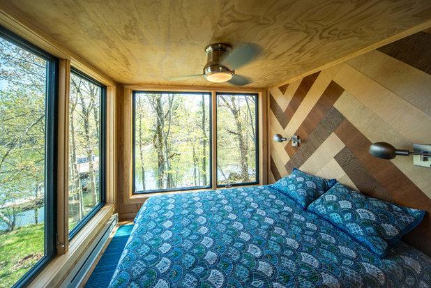 Contemporain Chambre by Taylored Architecture PLLC