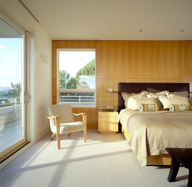 Contemporary Bedroom by Mitchel Berman Cabinetmakers Inc.