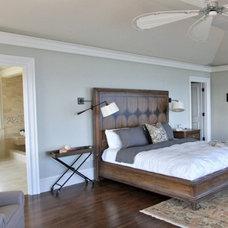 Contemporary Bedroom by Amanda Greaves & Company