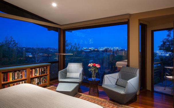 Contemporary Bedroom by Susan Jay Design